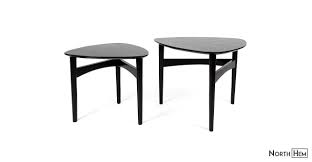 Beholm Tripod Nesting Tables Black